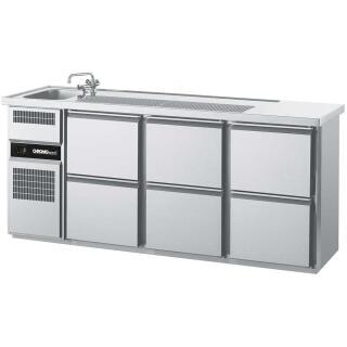 Kühltresen mit 6 Schubladen