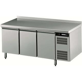 CHROMOnorm Kühltisch mit 3 Türen